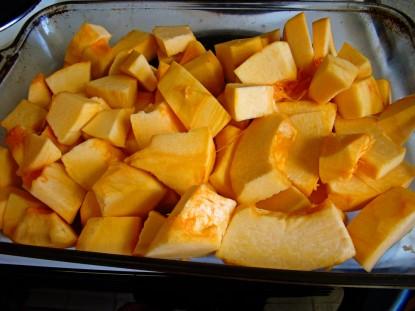 big pumpkin chunks