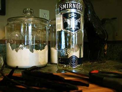 Homemade Vanilla Extract: Big Bottle