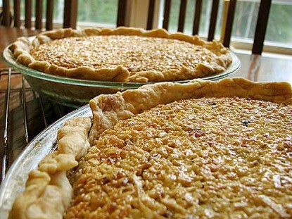 Coconut-Oatmeal Rum Pie (with Walnuts)