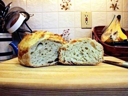 Simple, No-Knead Bread