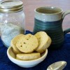 Lavender-Lemon Shortbread Tea Cookies