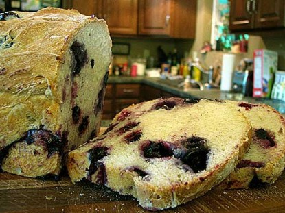 Grandmother Bread with Fresh Berries