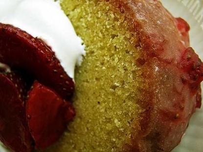 Fruity Jam Cake Glaze