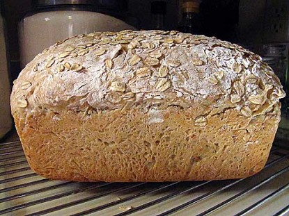 Honey Oats & Groats Bread