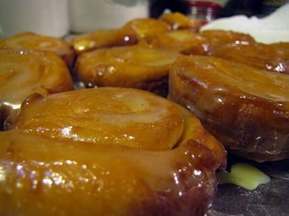 Homemade Honey Buns