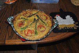 Potatoe Crust Quiche
