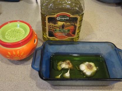 Garlic Oil, Roasted Garlic, and Garlic Spread