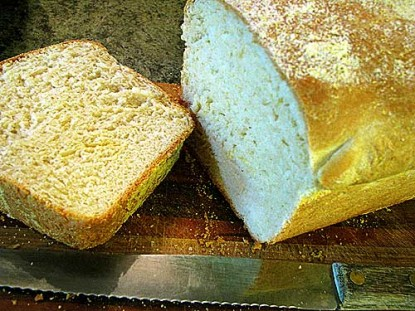 English Muffin Bread with Grandmother Bread