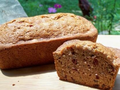 Cranberry Zucchini Bread