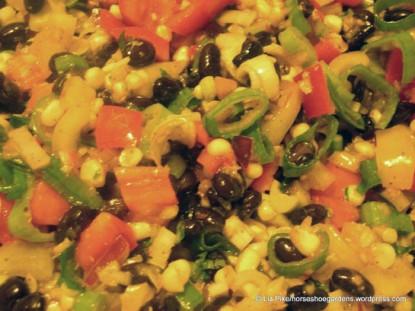 Fresh Corn and Black Bean Salad
